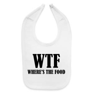 Where's The Food Bib - Baby Bib