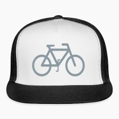 Mens Bicyle Design Trucker Hat