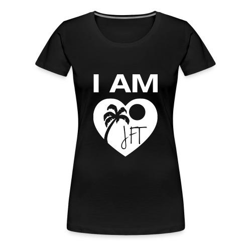 Ladies I AM JFT T-Shirt (various colors) - Women's Premium T-Shirt