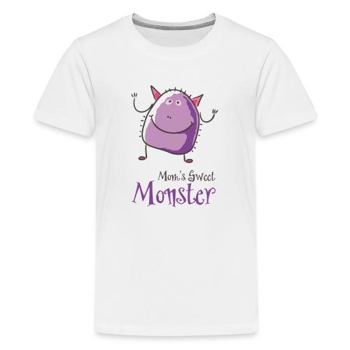 Mom's Sweet Monster - Kids' Premium T-Shirt