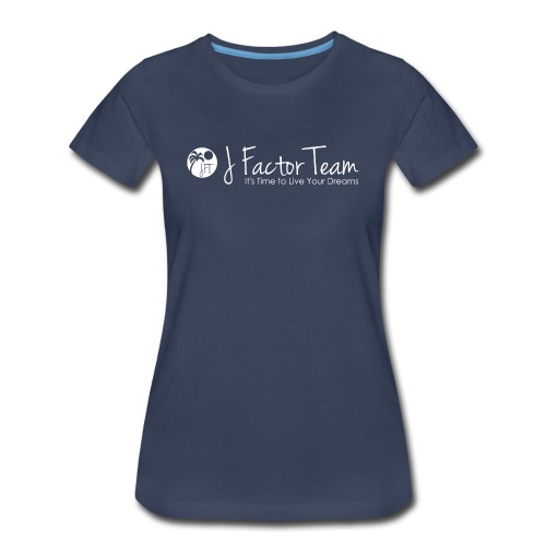 Ladies JFT Logo T-Shirt (various colors) - Women's Premium T-Shirt