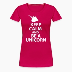 Keep Clam and be a Unicor Women's T-Shirts
