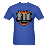 T-Shirts ~ Men's T-Shirt ~ #Flyers15kDay Shirt (NY Edition)