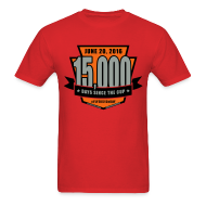 T-Shirts ~ Men's T-Shirt ~ #Flyers15kDay Shirt (NJ Edition)