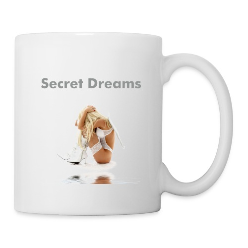 Secret Dreams - Fallen Angel Girl Coffee Cup - Coffee/Tea Mug