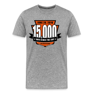 T-Shirts ~ Men's Premium T-Shirt ~ #Flyers15kDay Premium Grey