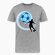 Football player with balls T-Shirts
