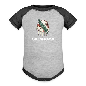 Toddler Okie Baseball T - Baby Contrast One Piece