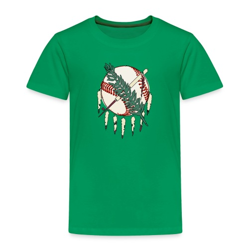 Toddler Okie Baseball T - Toddler Premium T-Shirt