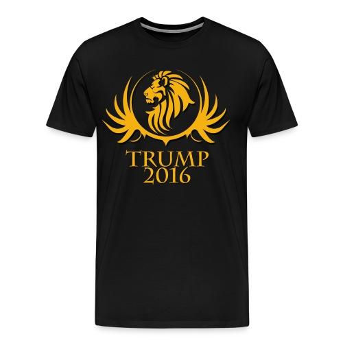 Mens Donald Trump 2016 Tribal Lion Shirt - Men's Premium T-Shirt