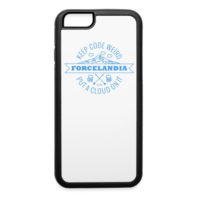 Forcelandia iPhone 6/6s Rubber Case