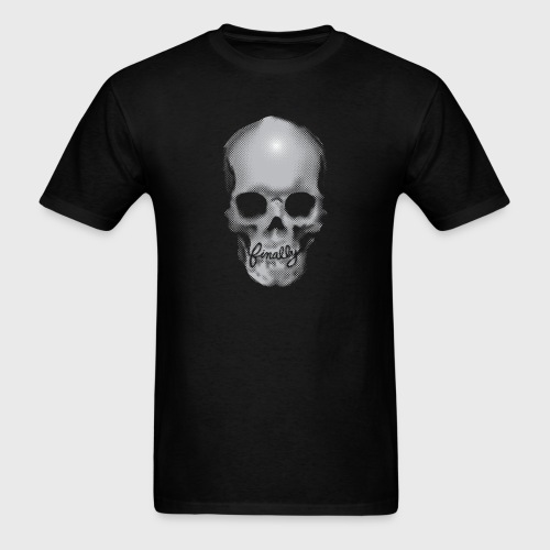 Finally Skull Ed Hardy - Men's T-Shirt