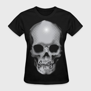 Finally Skull Ed Hardy - Women's T-Shirt