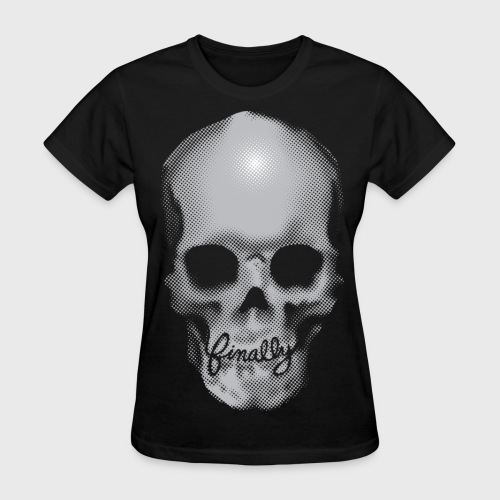 Finally Skull Ed Hardy - Women's T-Shirt