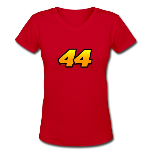 Women SO44 T-shirt (1) - Women's V-Neck T-Shirt