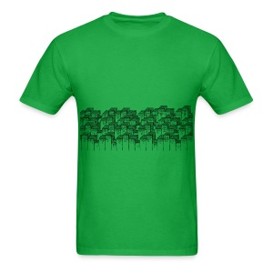 Smash City Scene Graphic Tee - Men's T-Shirt