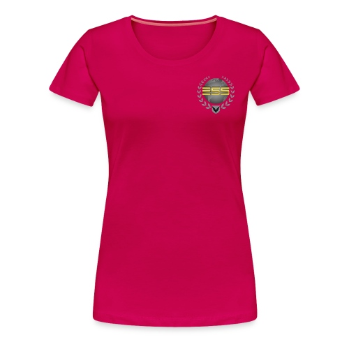 ESS womans Tshirt  - Women's Premium T-Shirt