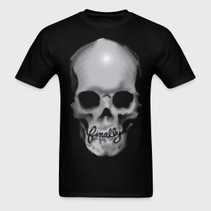 Finally Skull Tattoo - Men's T-Shirt