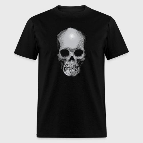 Finally Skull Tattoo - Men's T-Shirt