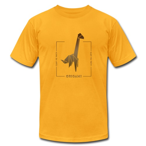Origami Giraffe Men's T-Shirt - Men's Fine Jersey T-Shirt