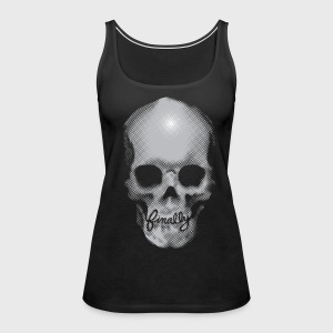 Finally Skull Tattoo - Women's Premium Tank Top