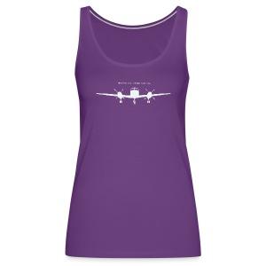 Wherever your dreams take you - women, purple tank top - Women's Premium Tank Top