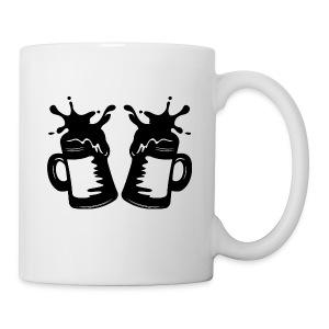 Beers Logo - White Mug - Coffee/Tea Mug