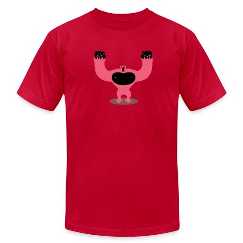 Pink Gorilla - Men's Fine Jersey T-Shirt