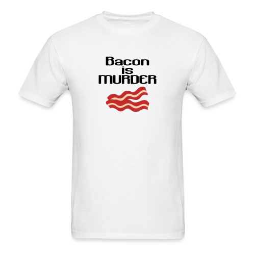 Men's - Bacon is Murder - Men's T-Shirt
