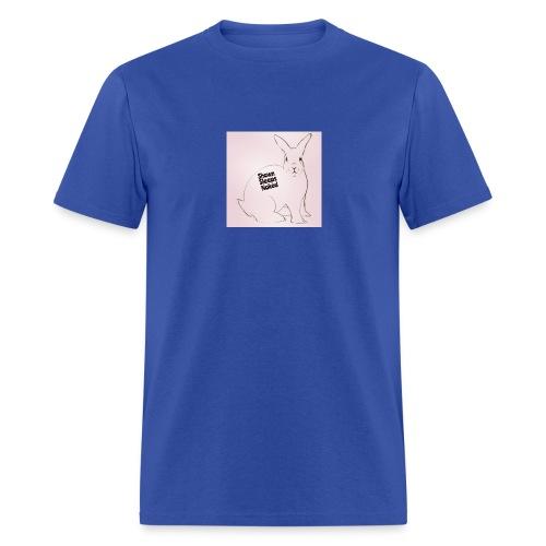 Shawn Sleeps Naked Rabbit - Men's T-Shirt