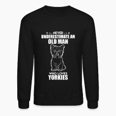 Old Man Who Loves Yorkie