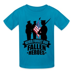 Never Forget Our Fallen Soldiers - Kids' T-Shirt