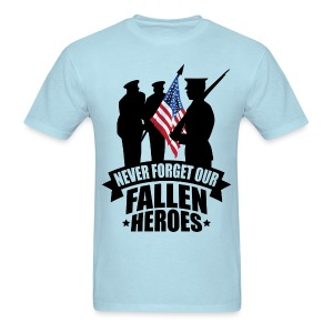 Never Forget Our Fallen Soldiers - Men's T-Shirt