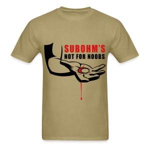 SUBOHM Not For Noobs Blood Tee - Men's T-Shirt