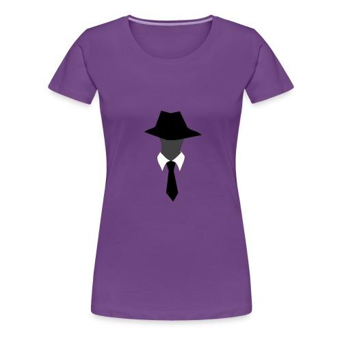 Women's SuperAgentMan Logo T-Shirt - Women's Premium T-Shirt