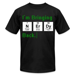 Bringing Nerdy Back T-Shirts - Men's T-Shirt by American Apparel