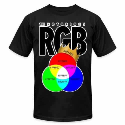 The Notorious RGB T-Shirts - Men's Fine Jersey T-Shirt