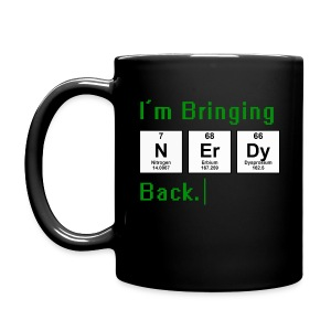 Bringing Nerdy Back Mugs & Drinkware - Full Color Mug