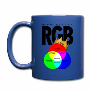 The Notorious RGB Mugs & Drinkware - Full Color Mug
