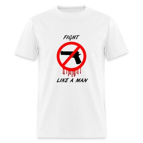 No Guns - Men's T-Shirt