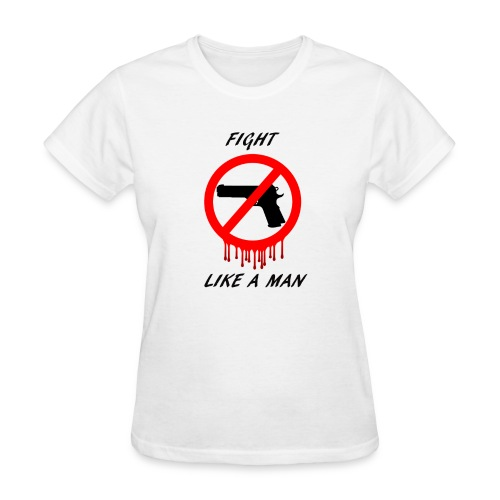 No Guns - Women's T-Shirt