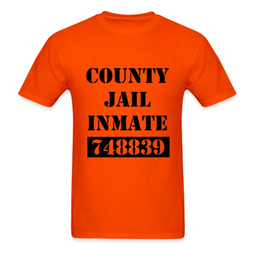 Men's - Inmate uniform - Men's T-Shirt