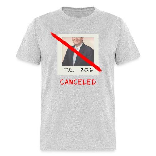 Ted Cruz 2016 Tour Canceled Tee - Men's T-Shirt
