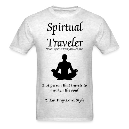 Spiritual Traveler - Men's T-Shirt