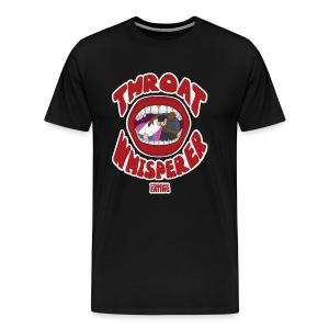 Hobo Brown Throat Whisperer Shirt - Men's Premium T-Shirt