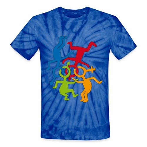 LOVE IS LOVE - Unisex Tie Dye T-Shirt