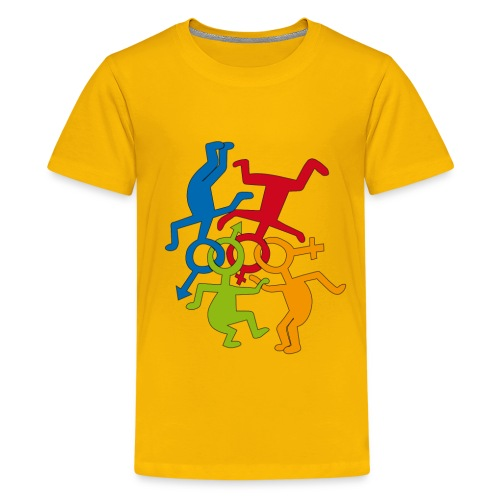 LOVE IS LOVE - Kids' Premium T-Shirt