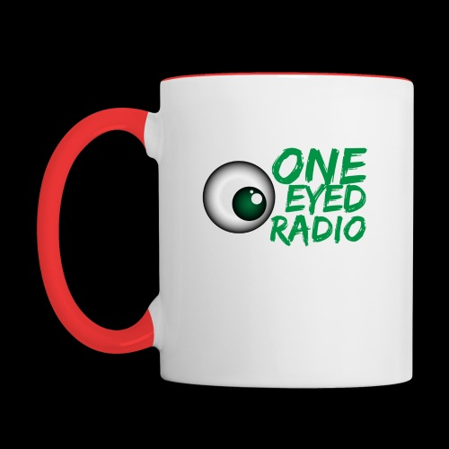 One Eyed Radio Logo 2/Tone - Contrast Coffee Mug