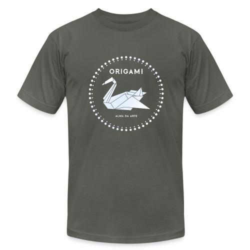 Origami Swan Men's T-Shirt - Men's Fine Jersey T-Shirt