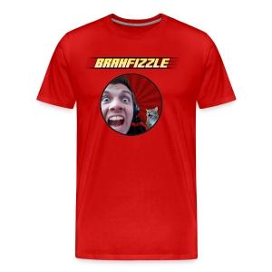 Brahfizzle Logo and Face Unisex T-shirt - Men's Premium T-Shirt